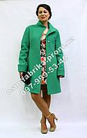Молодежное кашемировое пальто демисесонное