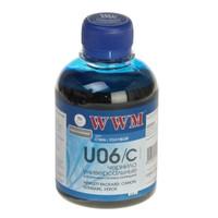 Чернила WWM для Canon/HP/Lexmark 200г Cyan Водорастворимые (U06/C) универсальные