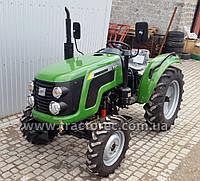 Трактор Zoomlion RD244-B, РЕВЕРС, 3 цил., 24 л.с, 4 гидровыхода, ВЫСОКАЯ РЕЗИНА 11.2-24.