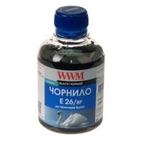 Чернила WWM для Epson Expression Premium XP-600/XP-605/XP-700 200г Black Пигментные (E26/BP)