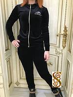 Женский теплый спортивный костюм Adidas с карманами