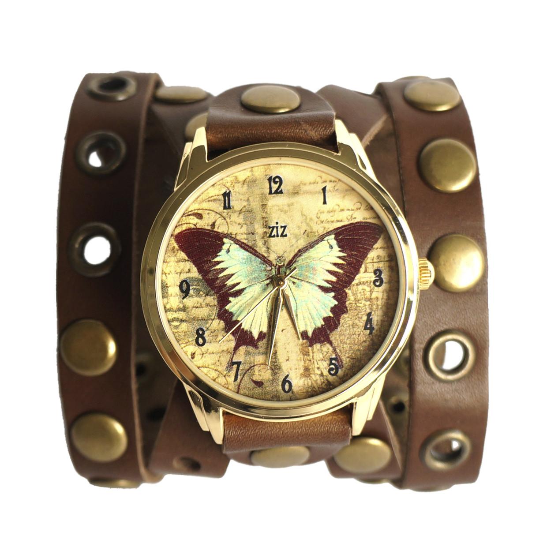 b60984b5 Женские наручные часы «Винтажная бабочка» широкий ремешок купить ...