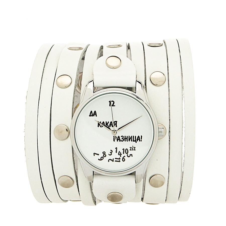 40459d92 Женские наручные часы «Да какая разница» широкий ремешок купить ...