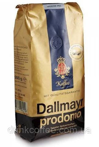Кофе DALLMAYR Prodomo, 100% Арабика, Германия, зерно, 500g