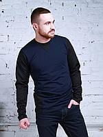 Реглан мужской R-черные рукава