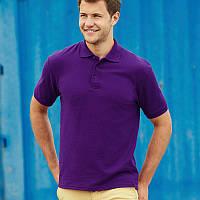 Фиолетовая мужская рубашка поло Premium