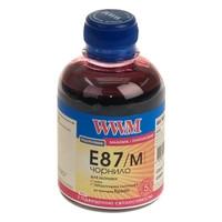 Чернила WWM для Epson Stylus Photo R1900/R2000 200г Magenta Водорастворимые (E87/M) с повышенной светостойкост