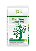 Биоудобрения BIO Line (Аминохелат ТЭ) + Fe 20 кг