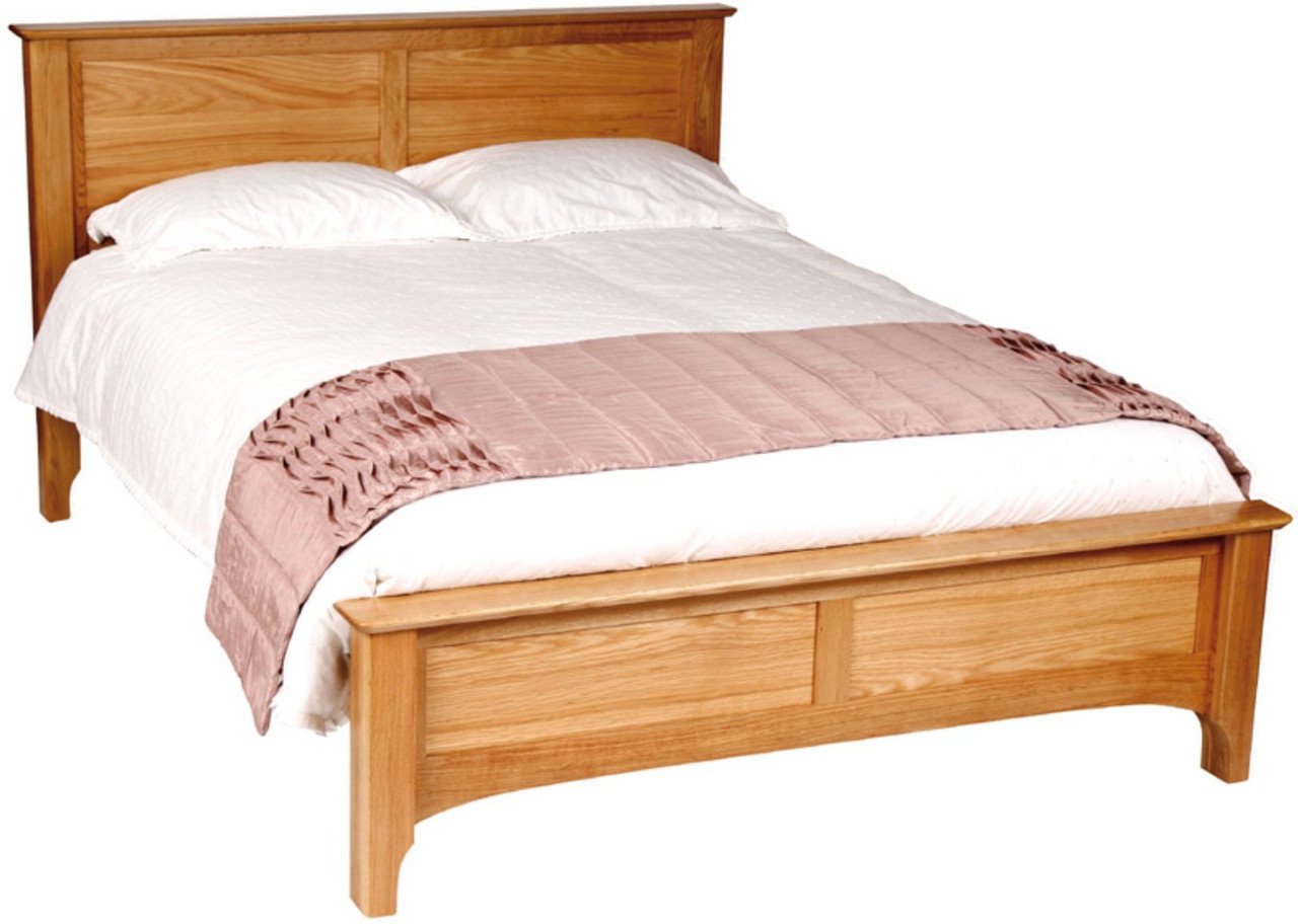 """Двуспальная кровать из дуба """"Альба"""""""