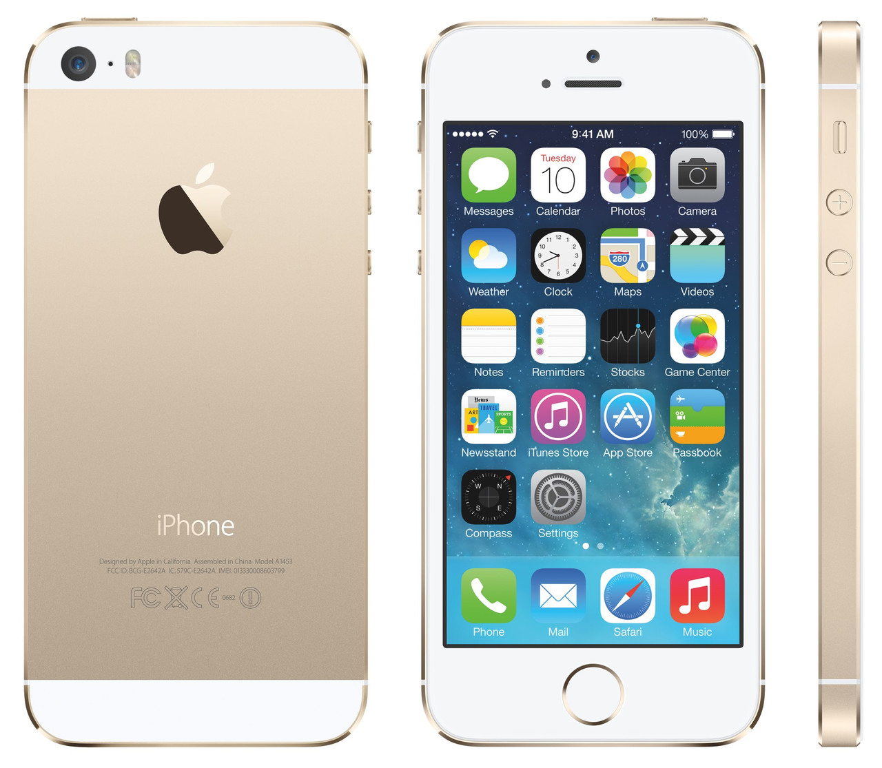 Original Apple iPhone 5S 16Gb Gold Neverlock refurbished