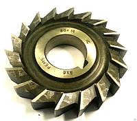 Фреза дисковая 3-х сторонняя Ф63х8 разнонаправленный зуб