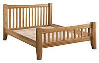 """Двуспальная кровать из дуба """"Колорадо"""""""