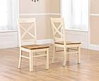 """Розкладний обідній стіл """"Мішель"""" з дуба з білою ніжкою, фото 5"""