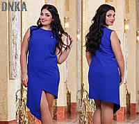Платье Диагональ БАТАЛ ат1043 (ГЛ)