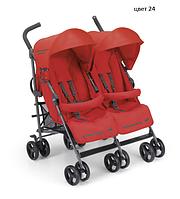 Детская прогулочная коляска для двойни Cam Twin Flip 2017