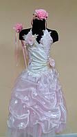 Прокат нарядное выпускное платье, платье Фея цветов, р.125-134см