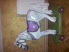 Конячка-гойдалка на колесах, фото 3