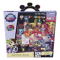 Игровой набор Littlest Pet Shop 15 зверюшек с аксессуарами