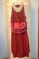 Женское платье в пайетках
