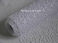Ажурна сітка біла на метраж лист 0,5*0,5 м, фото 1