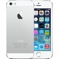 Original Apple iPhone 5S 16Gb Silver Neverlock refurbished, фото 1