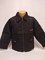 Акция курточки-пиджаки котоновые оптом для мальчиков от 6 до 12 лет.