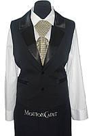 Форма для официанта (рубашка + жилет + передник) №5