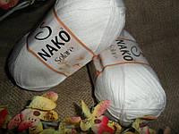 Nako Solare (Нако Соларе) 208 белый 100 % египетский хлопок