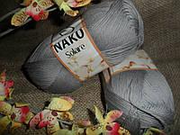 Nako Solare (Нако Соларе) 11239 серый100 % египетский хлопок