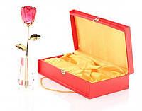 Crystle Rose: Роза высокая из стекла Сваровски