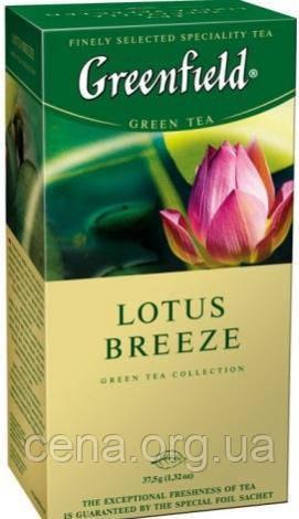 "Чай ""Greenfield"" Lotus Breeze 25 пакетиков"
