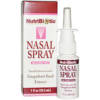 NutriBiotic, Назальный спрей, с экстрактом семян грейпфрута