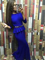 Платье позолоченный пояс в комплекте