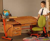 Парта трансформер бук и кресло (цвета разные)