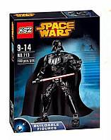 Конструктор Ksz 713 Звездные Войны аналог LEGO Star Wars Дарт Вейдер 160 деталей, фото 1