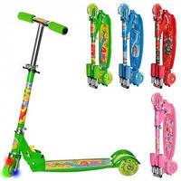 Самокат детский 3х колесный BB3-007 Profi Trike