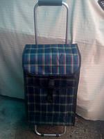 Тележка (складная) хозяйственная с сумкой, фото 1