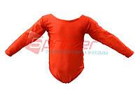 Купальники для художественной гимнастики. ХL (38-40), рост: 110-116см. Цвет:красный.