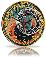 Настенные часы 72 33 x 33 cm