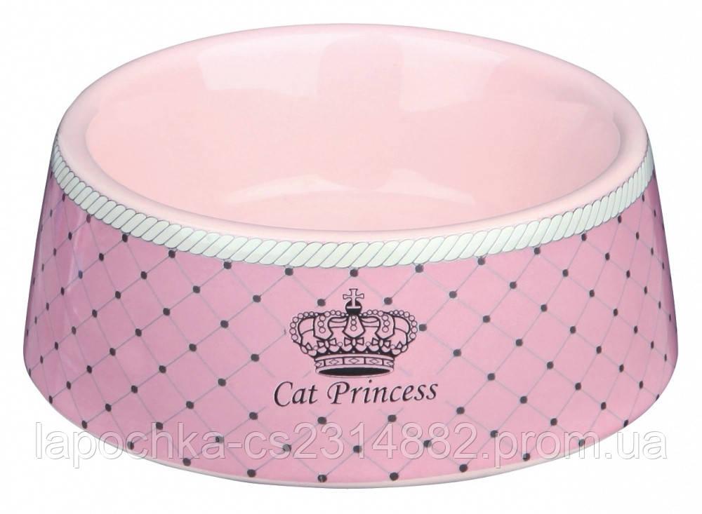 "Trixie Миска керамическая ""Cat Princess"""