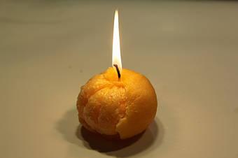 Изготовление формы для свечей 1