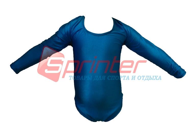 Купальники для художественной гимнастики. L (34-36), рост: 104-110см. Цвет:голубой.