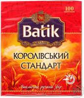 """Чай """"Batik"""" Королевский стандарт 100 пакетиков"""