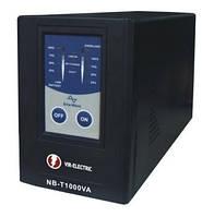 UPS. ИБП.  VIR-ELECTRIC T1000VA  600Вт.