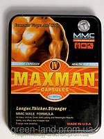 100 % ОРИГИНАЛ  MaxMan IV . Лучший препарат для повышения потенции
