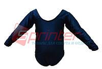 Купальники для художественной гимнастики. L (34-36), рост: 104-110см. Цвет:тёмно-синий.