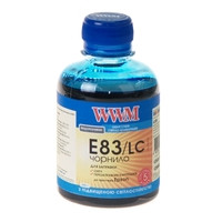 Чернила WWM для Epson Stylus Photo T50/P50/PX660 200г Light Cyan Водорастворимые (E83/LC) с повышенной светост