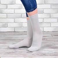 Носки женские высокие без плотной резинки