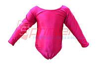 Купальники для художественной гимнастики. М (30-32), рост:98-104см. Цвет:розовый.