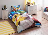 Детское постельное белье TAC Sponge Bob Movie полуторного размера